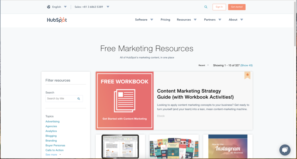 HubSpot_FreeResources